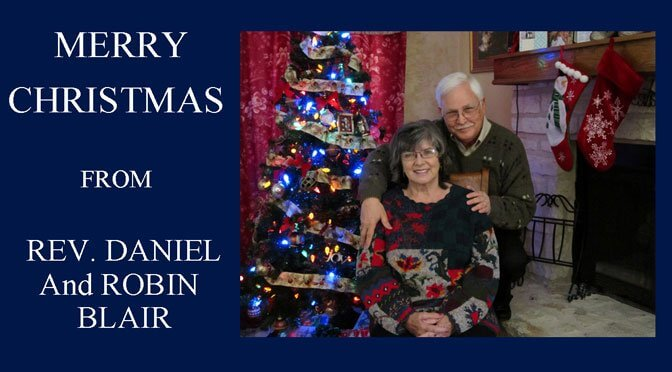 Merry Christmas from Daniel and Robin